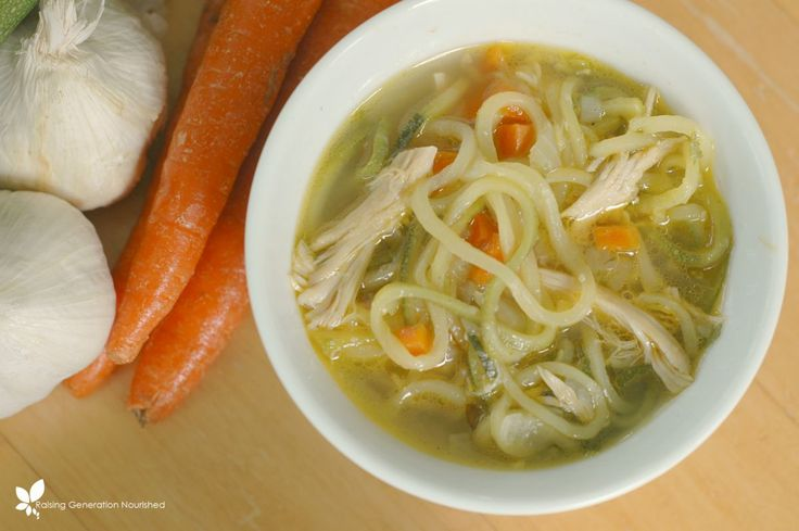 All the comforting taste and aroma of Grandma's chicken noodle soup with a new twist! Packed with more mineral rich veggies and still the amazing chicken noodle soup flavor!