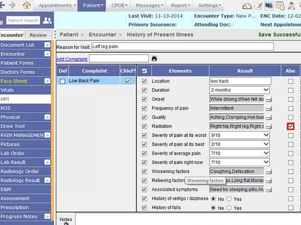 23 best Desktop Medical Software Interfaces images on Pinterest - subjective objective assessment planning note