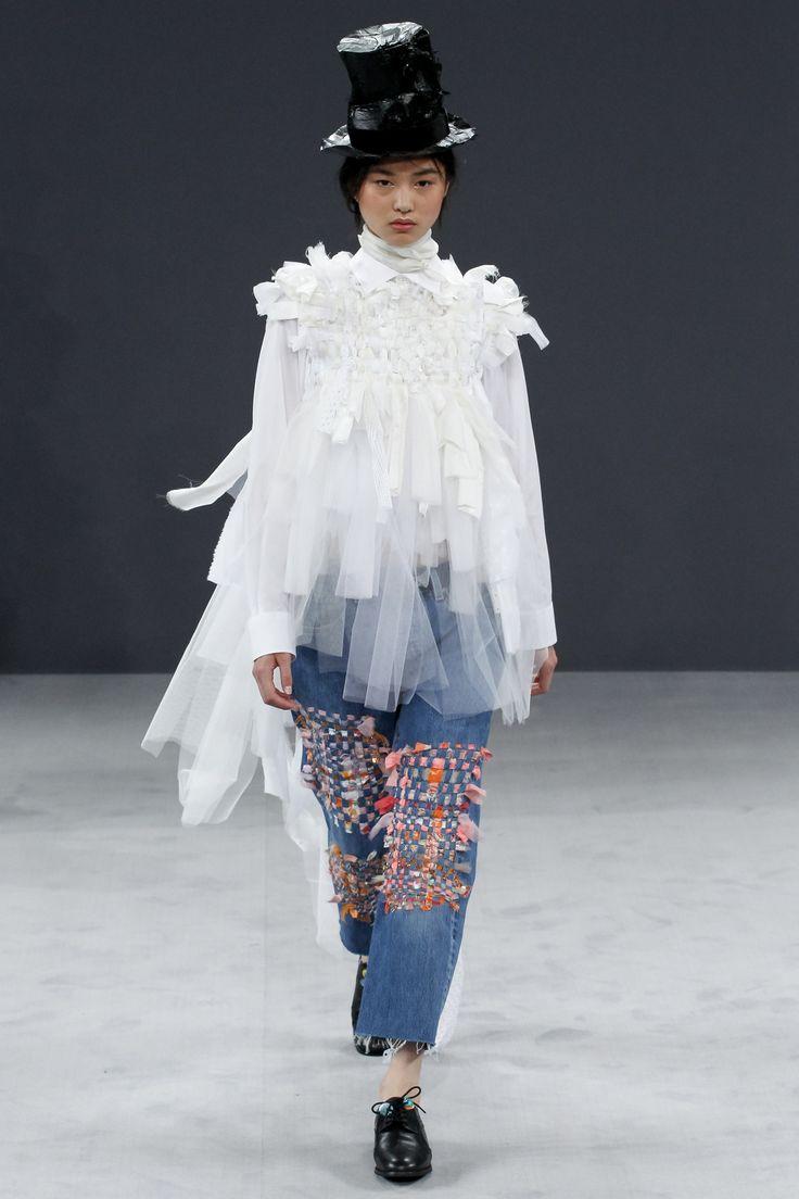 Viktor & Rolf Fall 2016 Couture Fashion Show - Estelle Chen (Elite)
