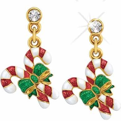 Danbury Mint Seasonal Sensations Holiday Earring Collection