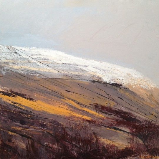Howgills 1. Acrylic and mixed media. (sold).