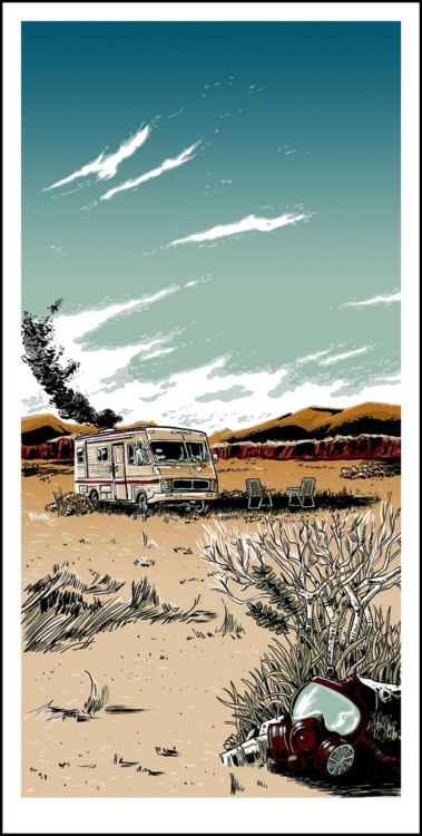 """The Cook,"" Doyle's tribute to the hit television show Breaking Bad."