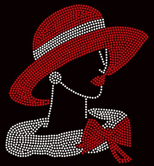 159 best glitter images on pinterest rhinestone for Red hat bling jewelry