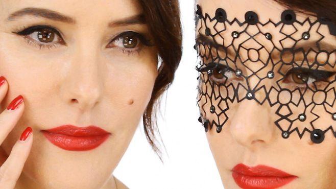 Chanel - Lisa Eldridge İle Göz Alıcı Vintage Makyajı Yapımı - Chanel makyaj uzmanı Lisa Eldridge tarafından göz alıcı Vintage makyajı uygulaması (Vintage İnspired Party Makeup Video)