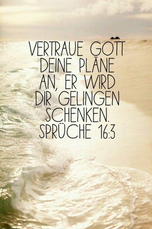 Sprüche 16 : 3