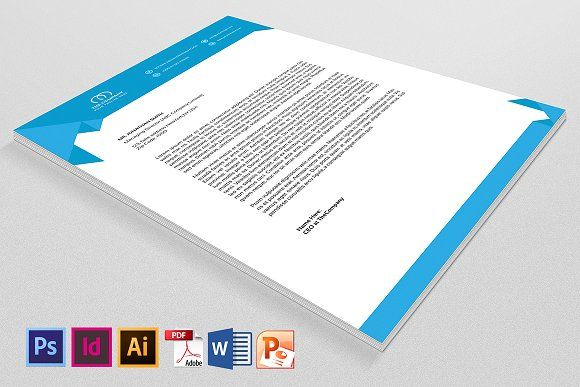 Company Letterhead by SmmrDesign on @creativemarket