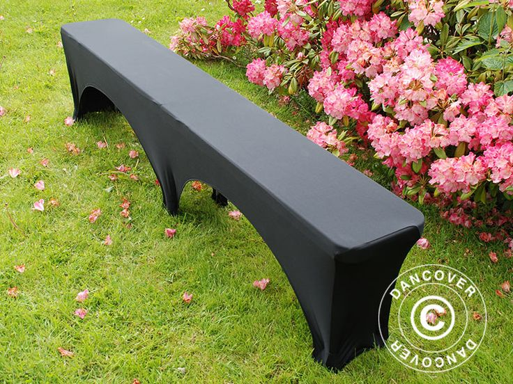 STRETCH BENCH COVER 183X28X43 CM, BLACK Smart and easy to mount bench cover in stretch fabric. Adds an exclusive look to your bench. #exclusive #bench #cover #inspiration