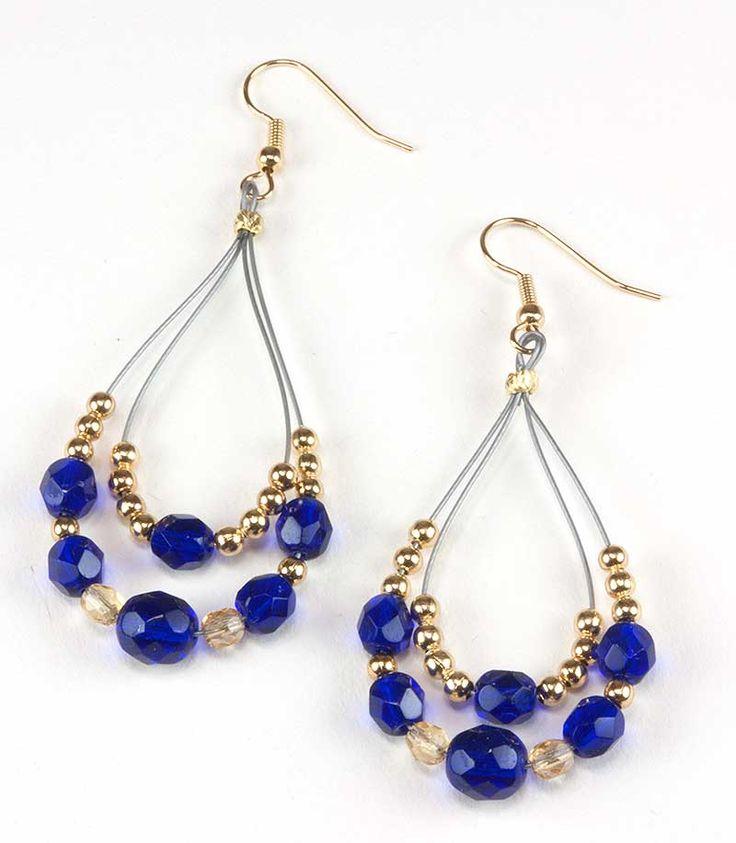 Jewelry Making Idea: Royal Bohemian Earrings