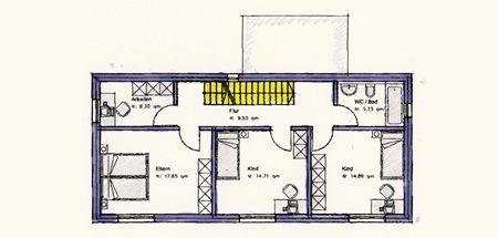 Style 145 - Kinskofer Holzhaus - Holz-Lehmhäuser aus Bayern