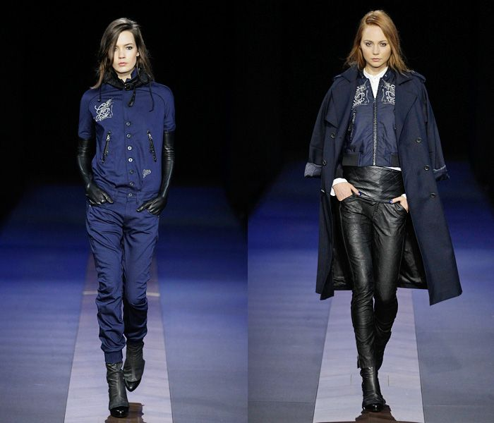 G-Star RAW 2013-2014 Fall Winter Womens Runway Collection - Bread and Butter Berlin: Designer Denim Jeans Fashion: Season Collections, Runwa...
