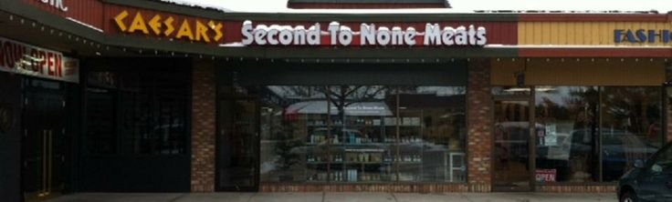 Second To None MEats - they know all of their producers really, really well. No surprises in the food you get here.