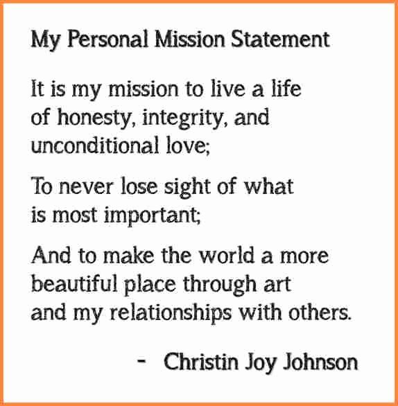 4 Personal Mission Statement Examples For Students Medical Report Personal Mission Statement Examples Mission Statement Template Mission Statement Examples