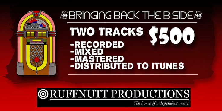 Bringing back the B-side at www.ruffnutt.com