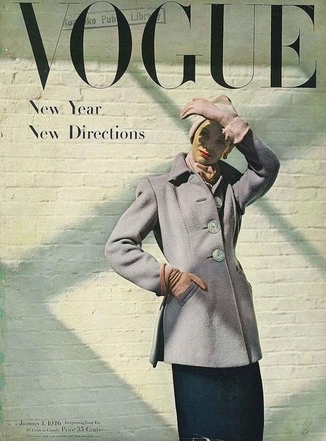 January 1946. Love the use of shadows.