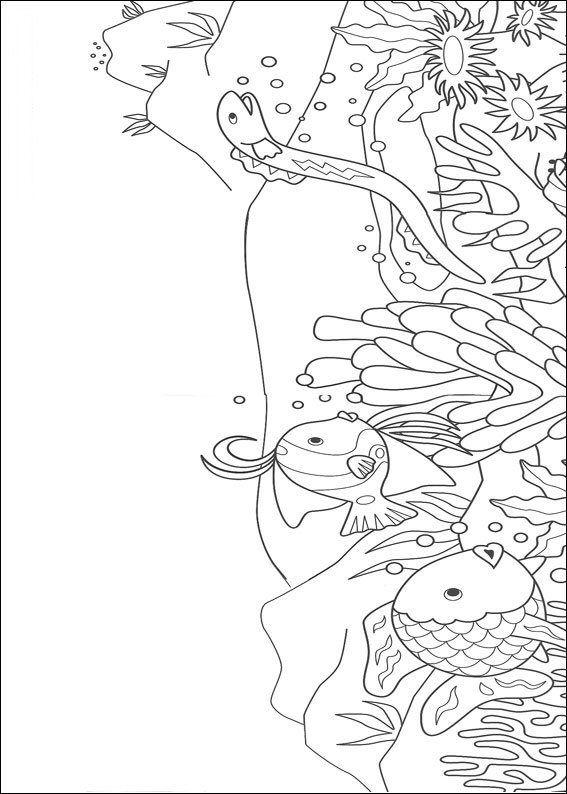 kleurplaat Mooiste vis van de zee - Mooiste vis van de zee
