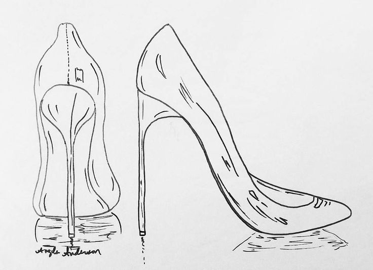 Red Stilettos Traceable Coloring Sheet Acrylic Painting Tutorial by Angela Anderson on Youtube | Free Art Lesson How to Paint Women's High Heel Pumps #ladiesnight #shoes #AcrylicPainting