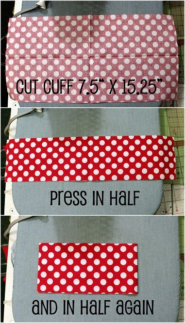 10 easy to make christmas stockings // how to make a cuff of different fabric
