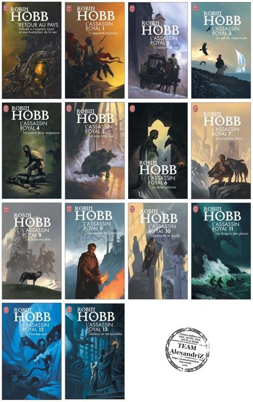 L'assassin royal, Robin Hobb