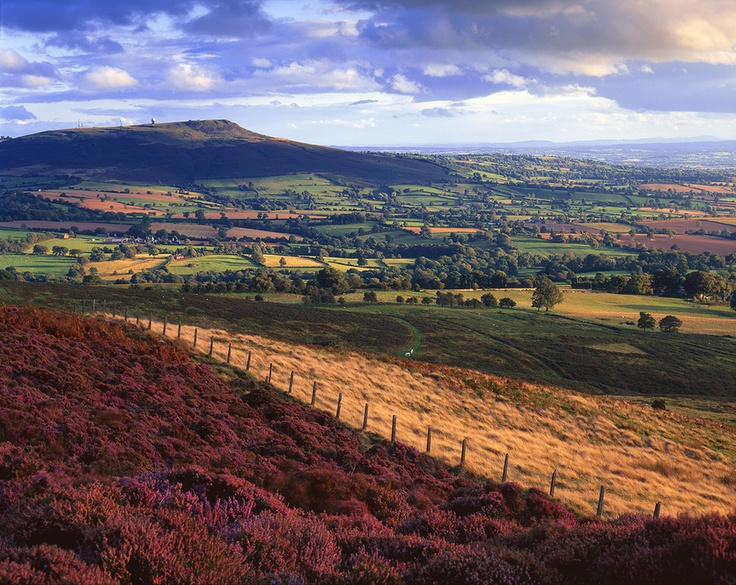 I love the colours in this beautiful photograph of Shropshire.