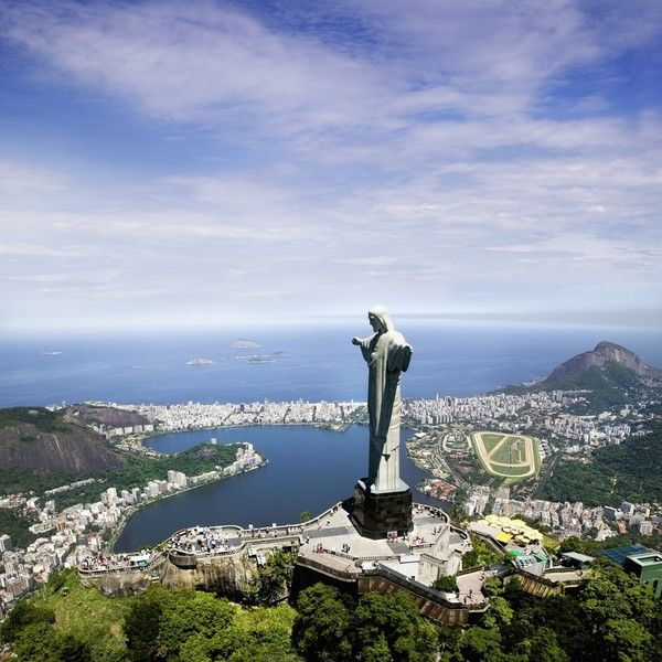 Rio de Janeiro, Brazil.  Yes, this already made the list but love the view from this angle too.
