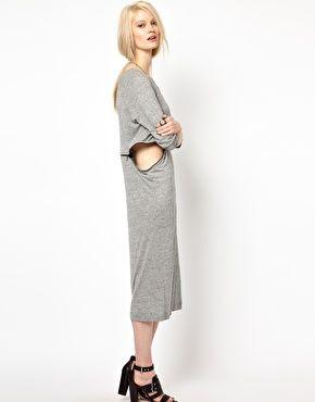 Enlarge BACK by Ann-Sofie Back Zip Long Sleeve Dress