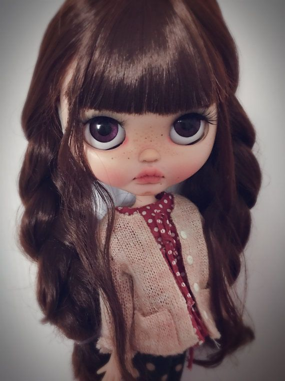 custom Blythe Blythecustom doll by qdsy