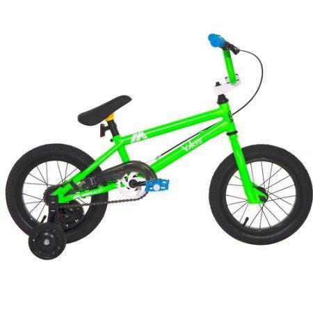 14 inch Mirraco Mirra Valens Boys' Bike, Green