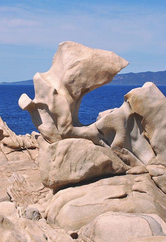 Rock of Campomoro,Corsica