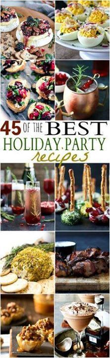Ensure you have the Ensure you have the BEST Holiday Party...  Ensure you have the Ensure you have the BEST Holiday Party around with these fun Party Recipes. From festive cocktails to sweet desserts and quick easy appetizers! Your one stop shop! | joyfulhealthyeats Recipe : http://ift.tt/1hGiZgA And @ItsNutella  http://ift.tt/2v8iUYW