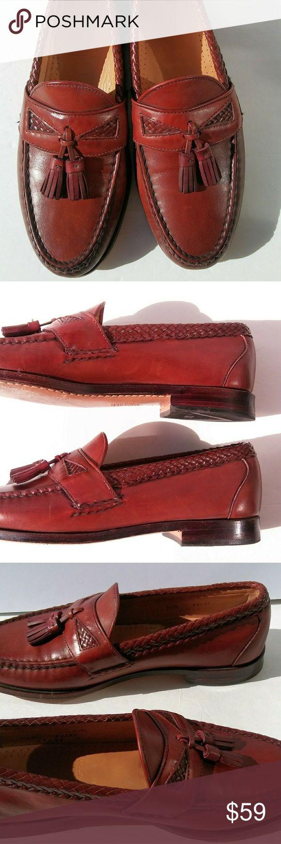 Allen Edmonds Maxfield Mens Tassel Loafers 9.5D ALLEN EDMONDS MAXFIELD TASSEL LOAFER  MENS SHOES BROWN 9.5D 92139 Excellent condition! Minimal wear! Great quality! Allen Edmonds Shoes Loafers & Slip-Ons