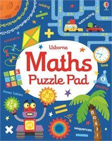 Usborne Maths Puzzle Pad