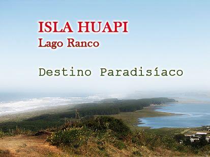 Isla Huapi es la mayor de las trece islas del Lago Ranco, en la XIV Región de Los Ríos, Chile, con una superficie de 826 hectáreas y se ubica en el sector centro norte del área del lago. Está habitada por apróx. 900 personas, en un 90% de origen mapuche y huilliche.