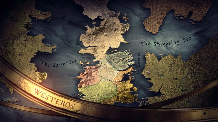 Game of Thrones opening title sequence