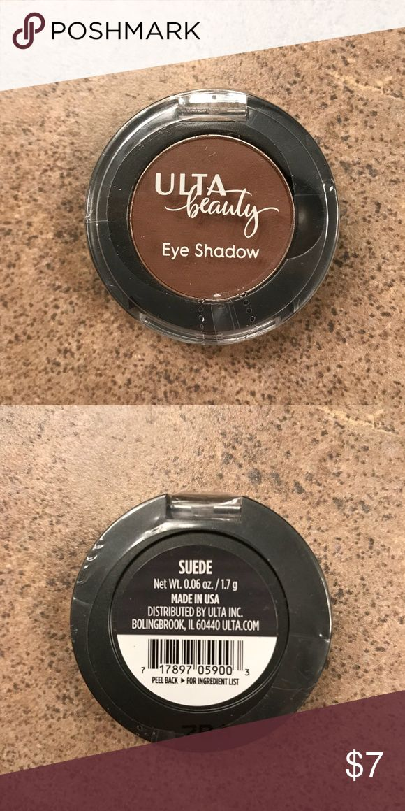 *Sealed* Ulta Suede Eyeshadow • Natural butters extracted