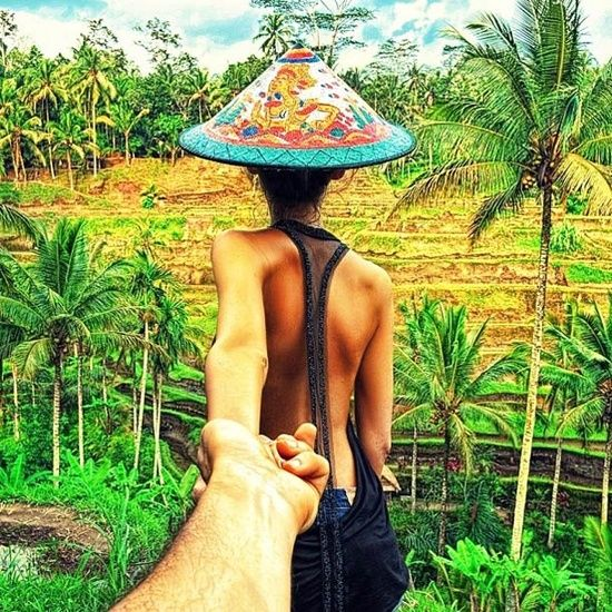 Nataly Zakharova & Murad OsmannPhotos, Murad Osmann, Girlfriends, Muradosmann, Following Me, Travel, Romantic Photography, Fields, Bali Indonesia