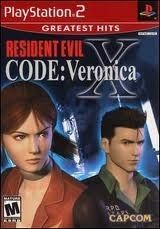 Resident Evil Code: Veronica X - PS2 Game