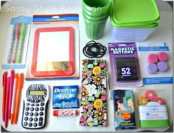 Best Diy Locker Ideas On Pinterest School Lockers Girls - Cute diy school locker ideas