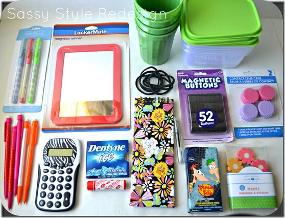 Ideas the dollar store and cute stuff on pinterest for Back to school decoration ideas