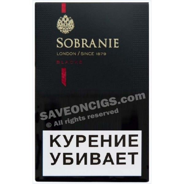 Genuine Swiss Made Sobranie Black King Size Right Choice At