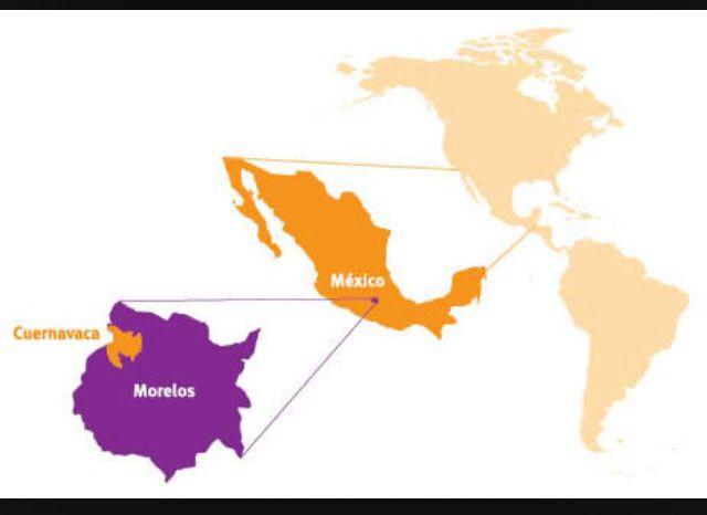 Cuernavaca map