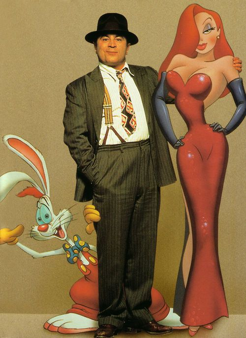 Who Framed Roger Rabbit? The Dress the Rabbit! it's not fair!! ;-)  #CWFilmNight