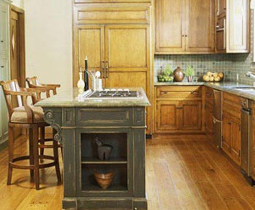 Functional L Shaped Kitchen  L Shaped Kitchen with Small Island