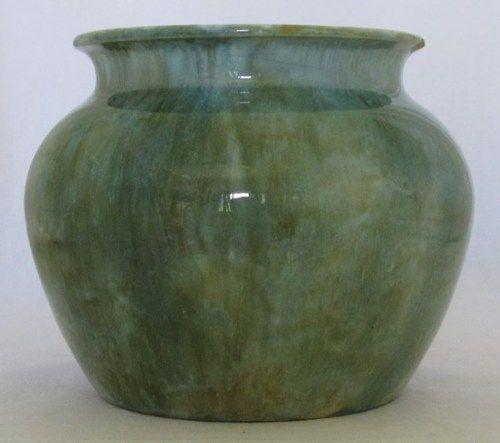 Australian Pottery Large Regal Mashman Artware Bulbous Vase No4