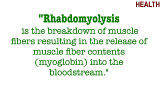 Rhabdomyolysis causing acute kidney injury due to an increase in muscle tissue breakdown, increased CK-MB blocking filtration of kidneys and leading to necrosis/ischemia due to poor perfusion. Pt will have oliguria, dark urine, muscle pain