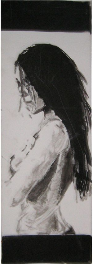 EGO, on canvas by Marie Prokopek