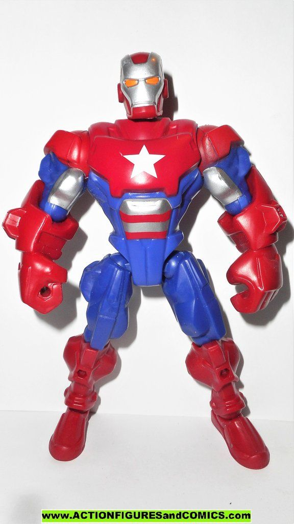 IRON PATRIOT MARVEL SUPER HERO MASHERS