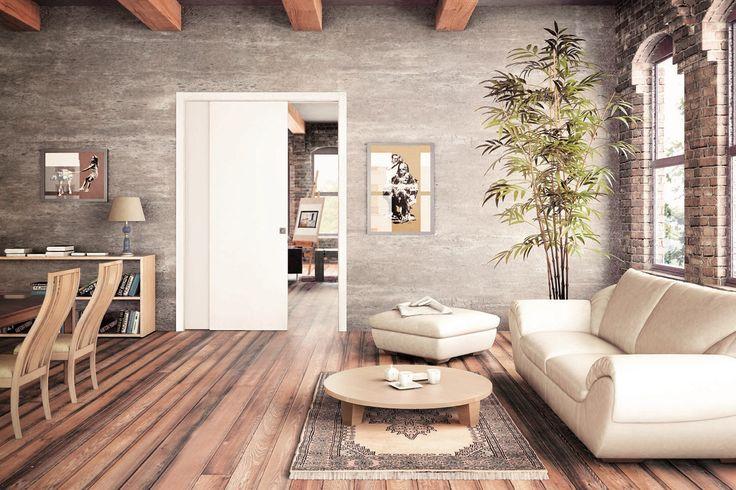 Per dividere gli ambienti o trasformarli in un unico spazio, le porte scorrevoli di grandi dimensioni sono una soluzione funzionale e di grande impatto.