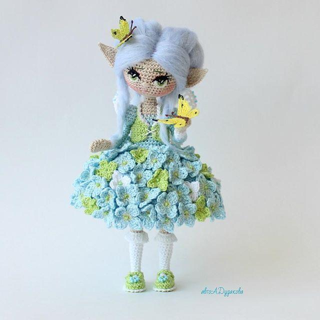 Знакомьтесь -это Турантэ-эль.   Девочка Гортензия! М�...☆ lovely doll