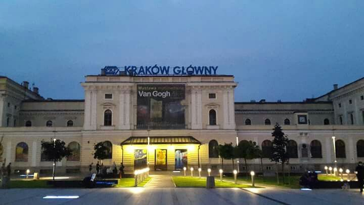 Krakow train station