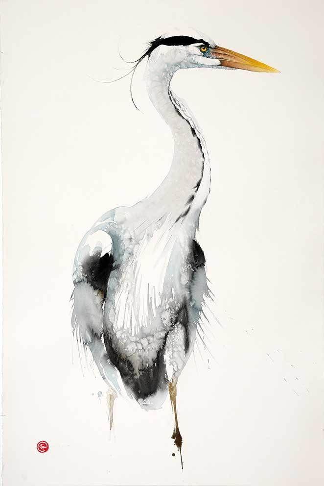 Grey Heron (Unframed)